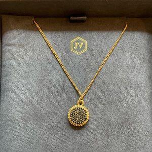 Julie Vos Fleur de Lis Necklace New in Box